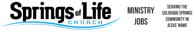 Springs of Life Ministry Jobs